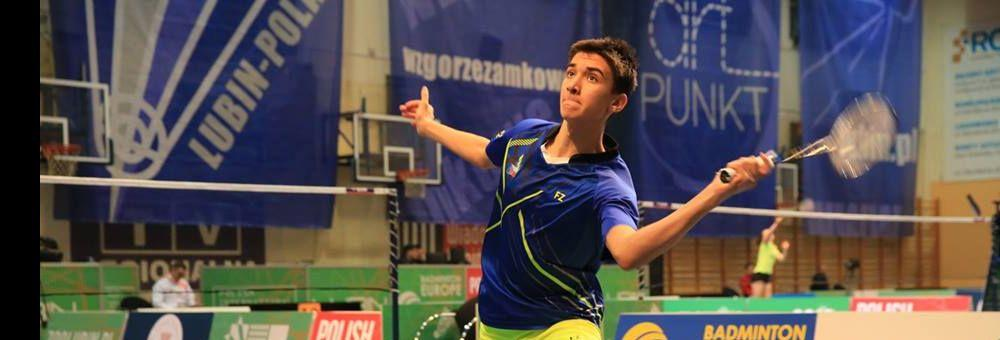 Cristian Savin třetí  na Belgian Junior International.