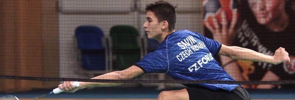 Cristian Savin dvojnásobným mistrem ČR.