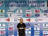Lukáš Zevl a Cristian Savin na Scottish Open.