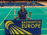Kateřina Zuzáková druhá na turnaji Czech Junior.