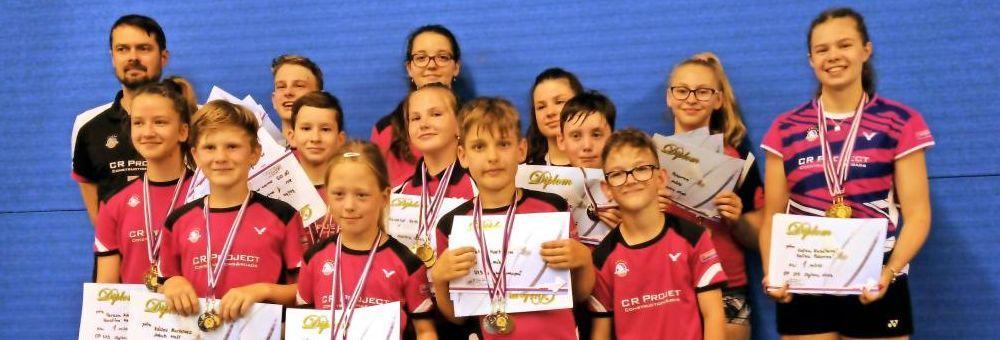 Výsledky krajského přeboru Středočeského kraje U13 a U19.
