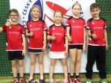 Nábor dětí na badminton.