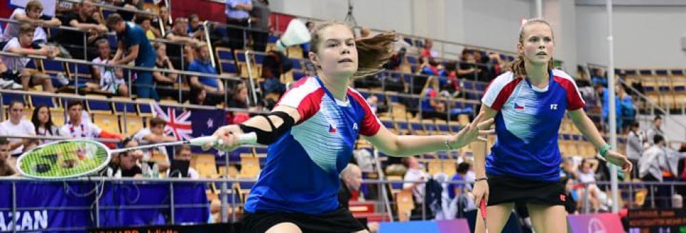 Kateřina Zuzáková na Mistrovství Světa juniorů.