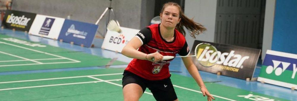 Kateřina Zuzáková vítězkou Slovakia Junior International ve čtyřhře.