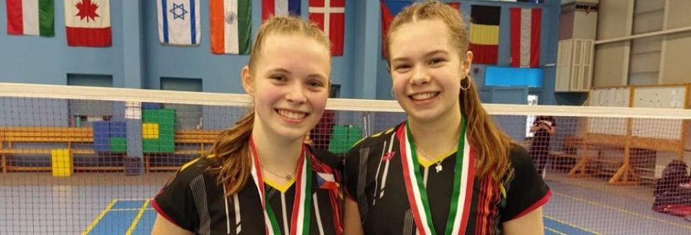 Kateřina Zuzáková vítězkou čtyřhry na turnaji Hungarian Junior International.