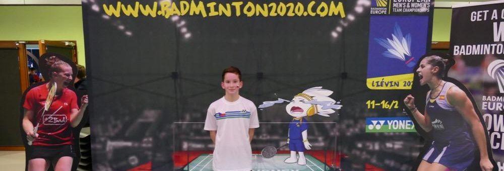 Václav Simon se zúčastnil Mistrovství Evropy kategorie U15.