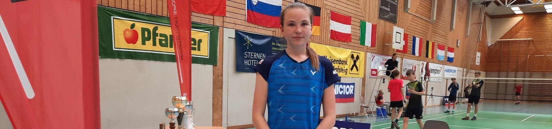 Karolína Kalkušová bronzová v Rakousku.